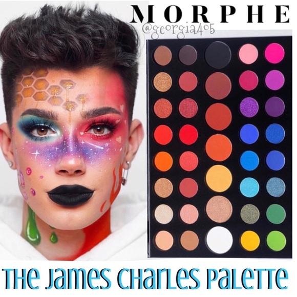 Morphe Makeup New James Charles Palette Bonus Poshmark